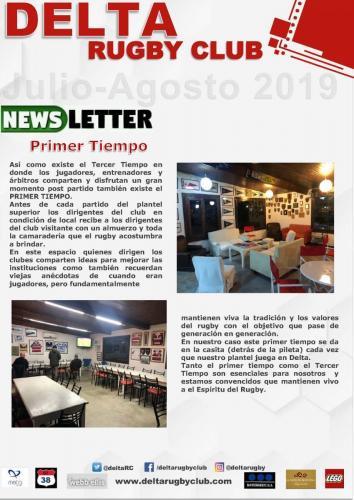 News letter Julio Agosto v1 Page 1